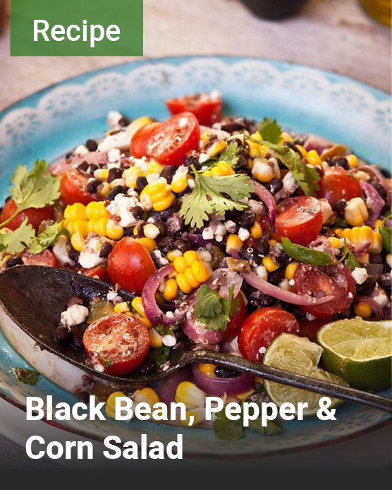 Black-Bean-Pepper-Corn-Salad